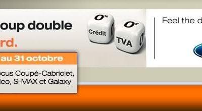 Coup Double: Extension de l'offre à Focus et C-MAX