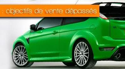 Focus RS : objectifs de vente dépassés