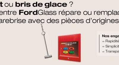 FORD Glass : Une action simple et rapide pour votre pare-brise