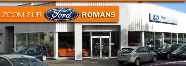 Le garage ford romans ford grim auto savab saval for Garage utilitaire montpellier