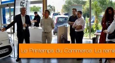Le Printemps du Commerce: Les gagnants ont reçu leur voiture.