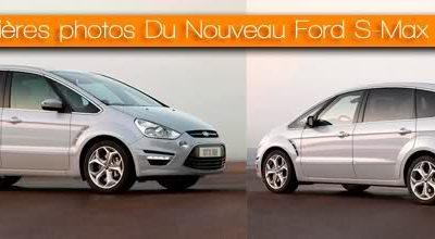 Nouveau Ford S-Max 2010 : Les premières photos
