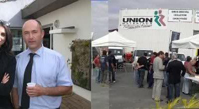 Présentation de la gamme VU chez Union des Materiaux à Pézénas
