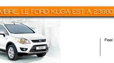 PROMOTION KUGA CHEZ FORD EN NOVEMBRE !!!!!