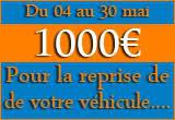 Reprise de 1000€ Chez Grim Auto Pérols