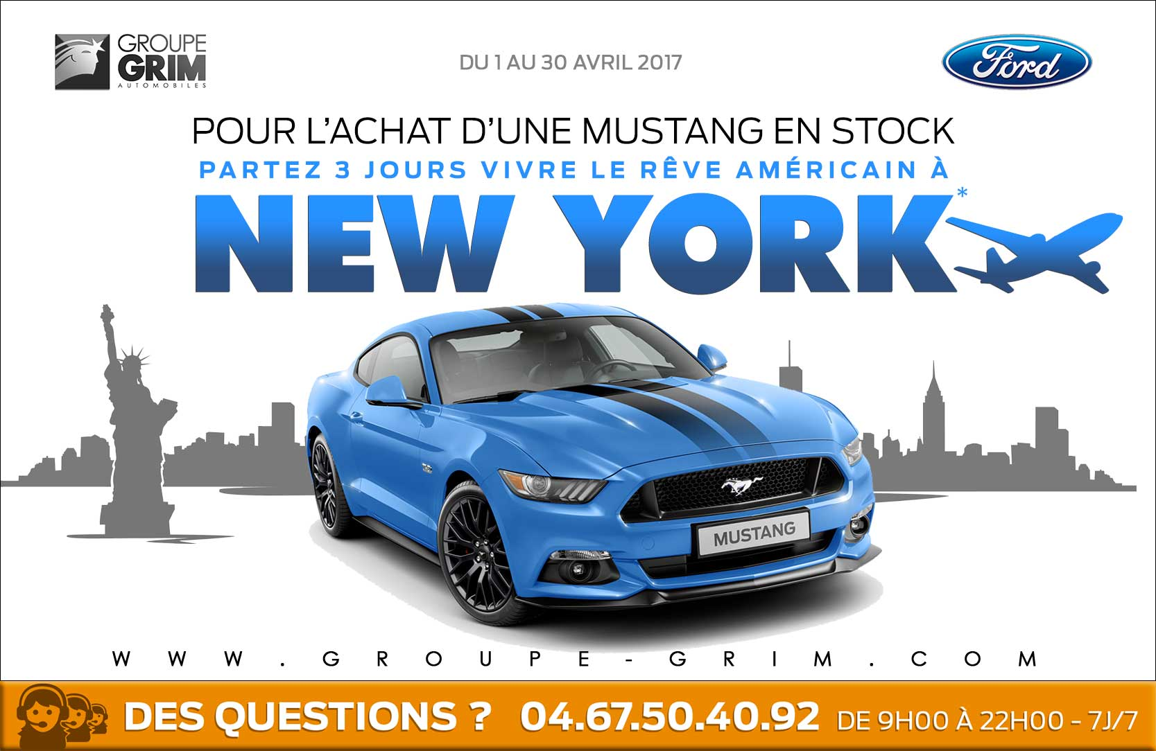 Ford mustang New york