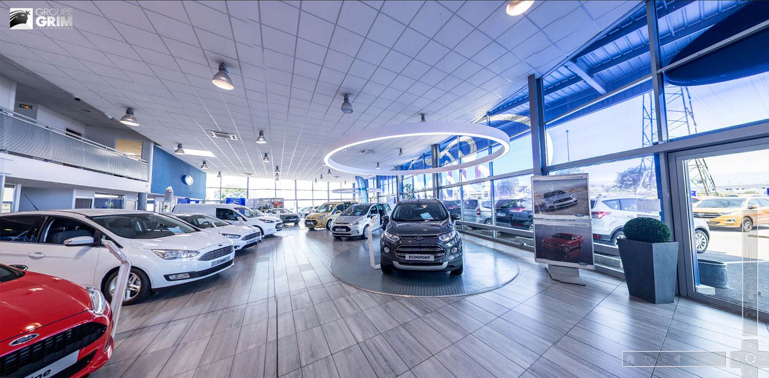 Visitez ford valence saval en r alit virtuelle 360 for Garage ford saval valence