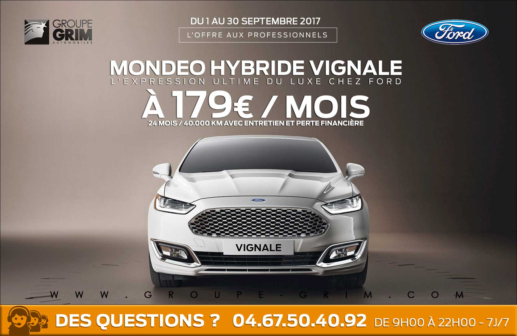 mondeo hybride vignale a 179 mois ford grim auto. Black Bedroom Furniture Sets. Home Design Ideas