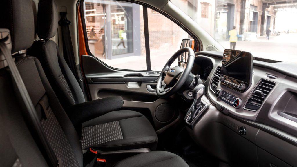 nouveau Ford Transit Custom