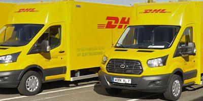 Ford et DHL lancent la production d'un fourgon de livraison 100% électrique