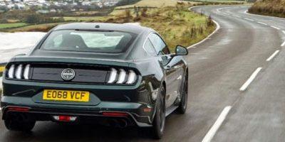 Découvrez l'île de Man au volant de la Mustang Bullitt 2018