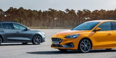 La Ford Focus ST sur la N304, la plus belle route d'Europe ?