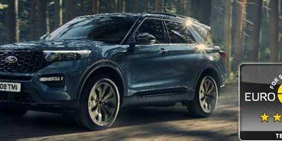 Ford Explorer Plug-In Hybrid 7 places :5 étoiles aux crash-tests sécurité.