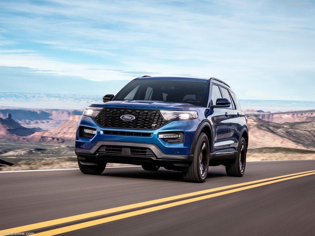 Ford explorer 2020 de face