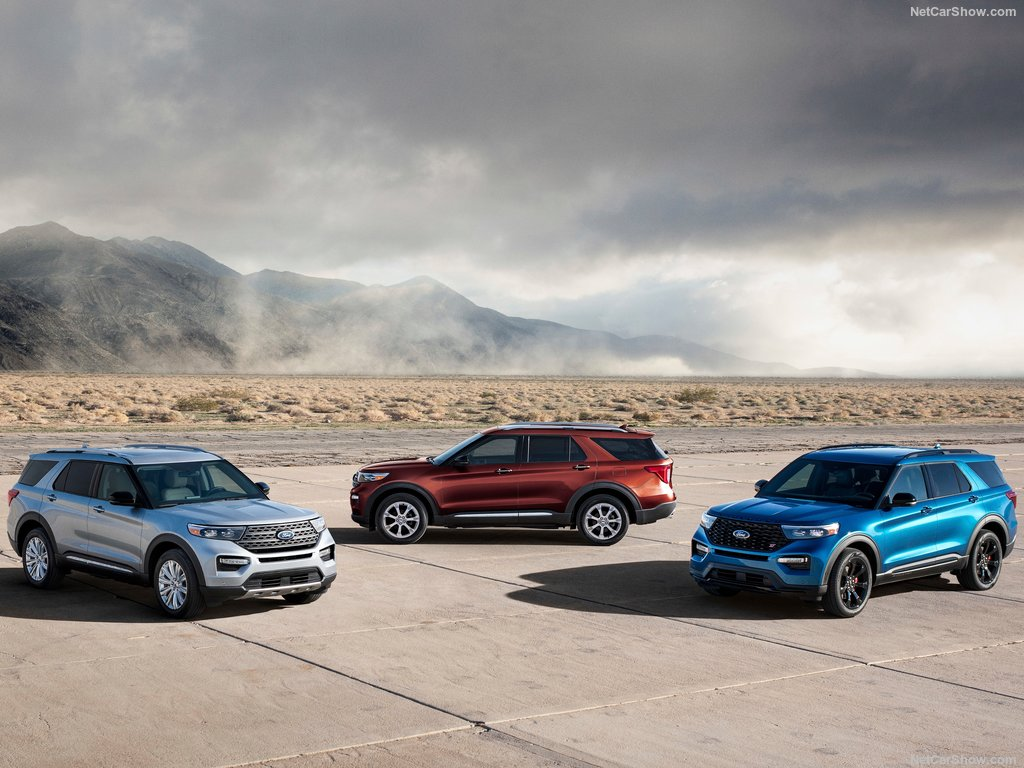 Différents Ford Explorer 2020