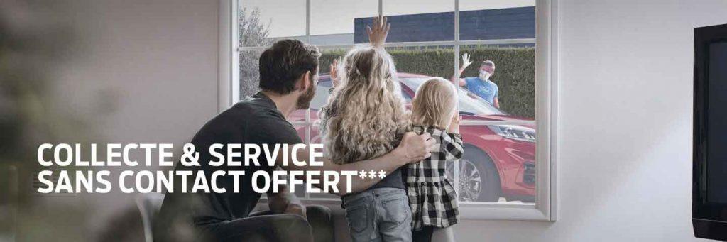 Collecte & Service sans contact