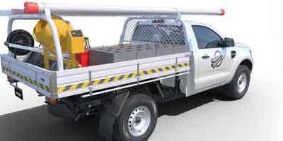 Le Ford Ranger étend sa gamme : Voici châssis-cabine prêt à la conversion
