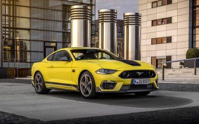 Découvrez la nouvelle Mustang Mach 1