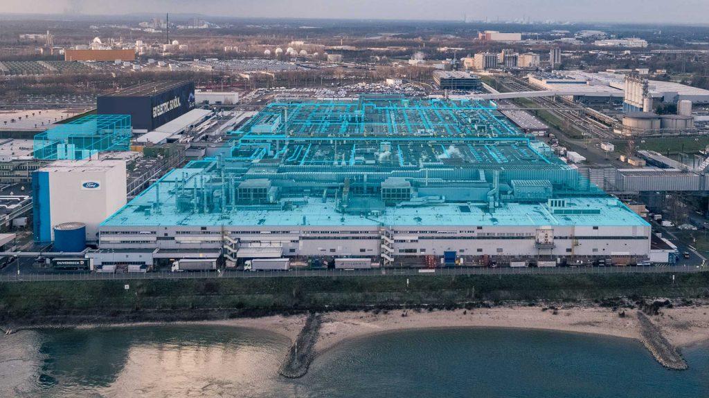 usine Véhicules électriques Ford
