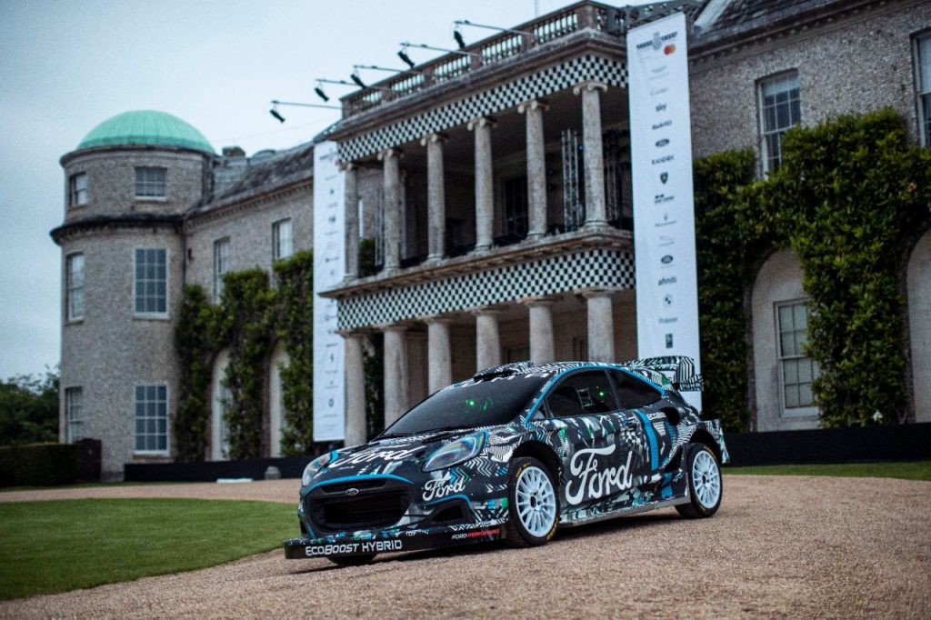 Ford et M-Sport dévoilent le nouveau Puma Rally1 WRC