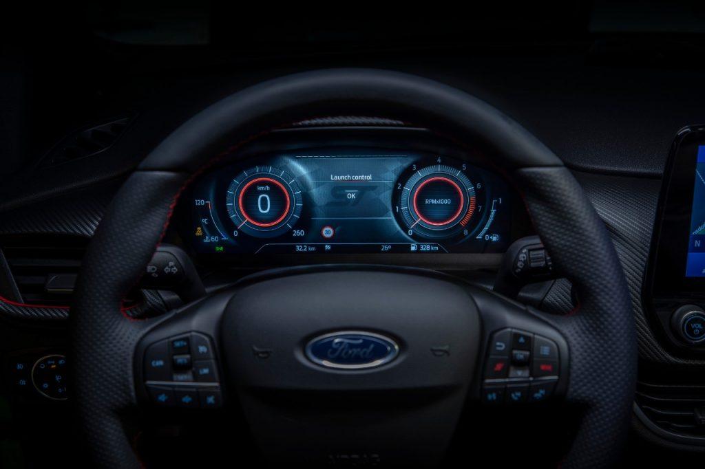 compteur Nouvelle Ford Fiesta st 2021