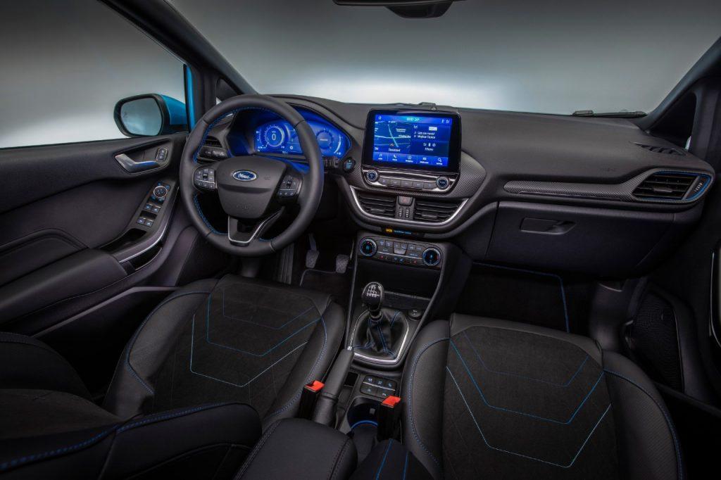 interieur Nouvelle Ford Fiesta 2021