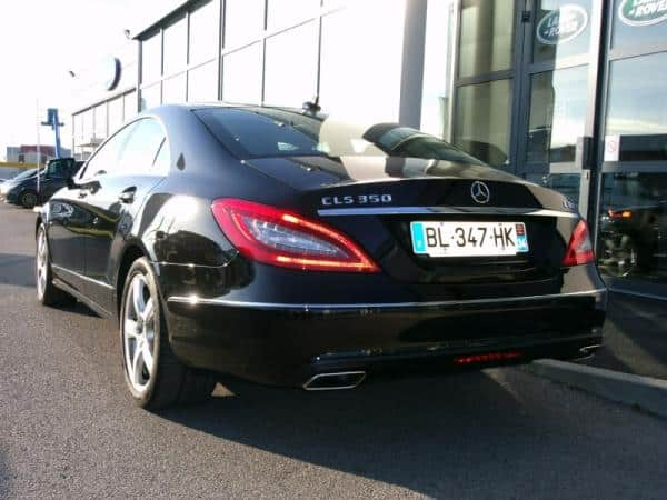 mercedes benz cls 350 cdi be occasion