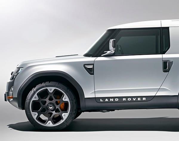 Le land rover dc100 francfort pour le salon de l - Salon auto montpellier ...