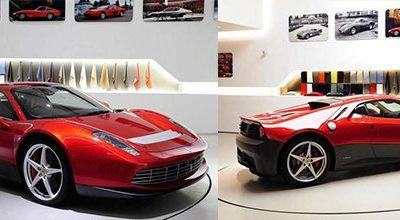 Ferrari présente la SP12 EC, la Ferrari d'Eric Clapton