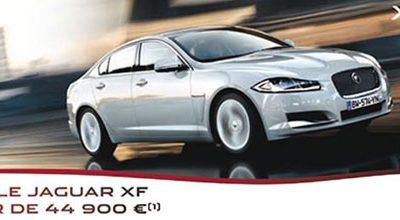 la Nouvelle Jaguar XF chez Prestige Automobile Montpellier est à partir de 44900€