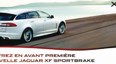 Découvrez en avant-première la nouvelle Jaguar XF Sportbrake