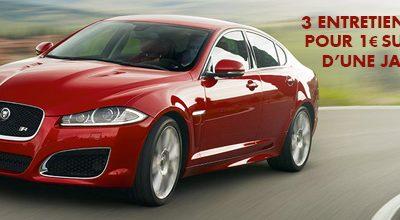 Entretien sur Jaguar XF à 1€