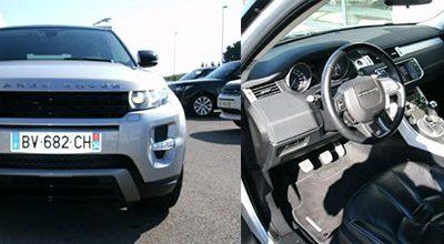 LAND-ROVER Range Rover Evoque Coupé SD4 Dynamic : L'OCCASION DU MOIS