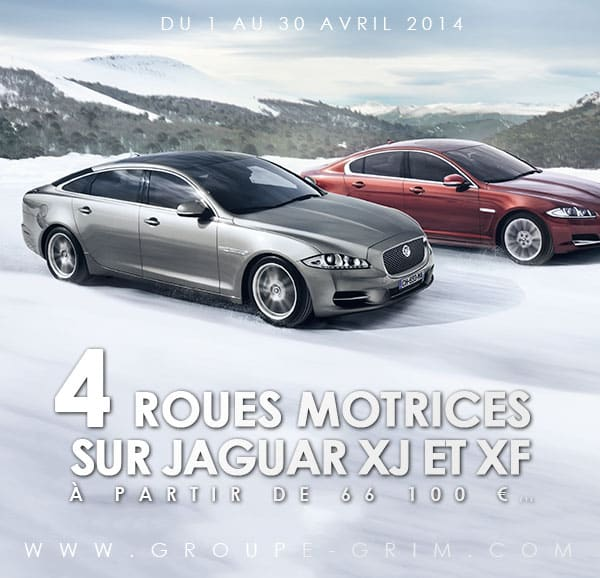 4 roues motrices sur jaguar xj et xf. Black Bedroom Furniture Sets. Home Design Ideas