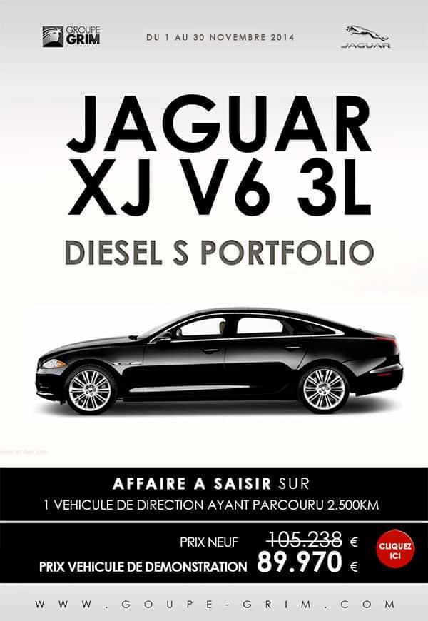 jaguar xj v6 3l diesel s portfolio a saisir jaguar montpellier land rover montpellier land. Black Bedroom Furniture Sets. Home Design Ideas