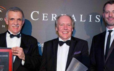 La Jaguar XE élue « Plus Belle Voiture de l'Année 2014 »