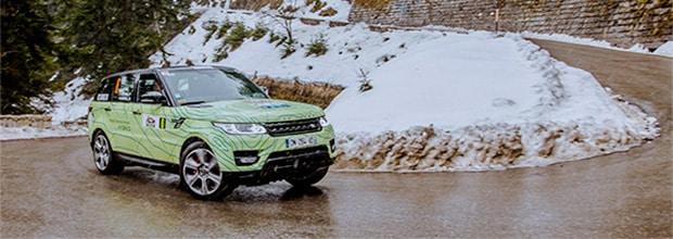 le range rover sport hybride brille au 16e rallye monte carlo des energies nouvelles jaguar. Black Bedroom Furniture Sets. Home Design Ideas