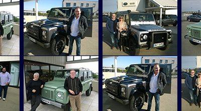 Land Rover BÉZIERS célèbre le DEFENDER