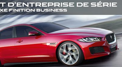 JAGUAR XE BUSINESS A PARTIR DE 399€/MOIS SANS APPORT