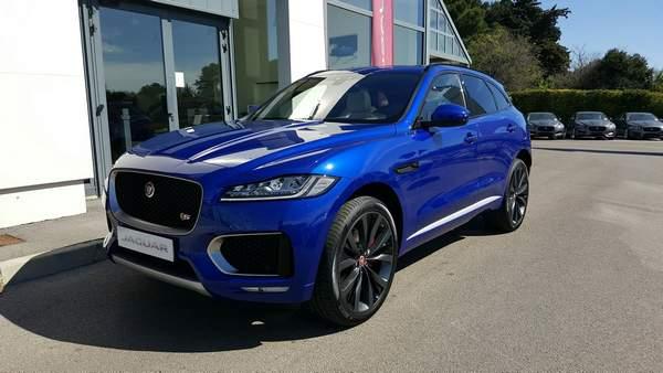 le f pace vient d 39 arriver chez prestige automobile jaguar montpellier land rover montpellier. Black Bedroom Furniture Sets. Home Design Ideas