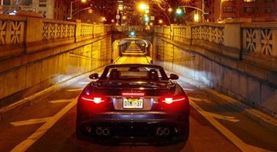 LA JAGUAR F-TYPE A NEW YORK