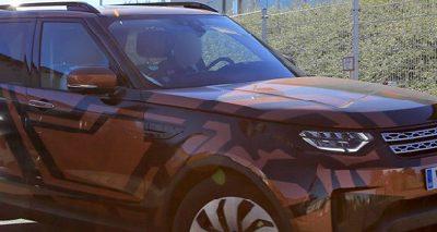 Le nouveau Land Rover Discovery se montre