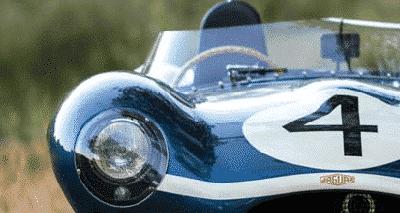 Passion : une Jaguar Type-D de 1955 inscrit un nouveau record.