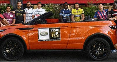 LAND ROVER et la Ligue Nationale de Rugby lancent la saison 2016-2017