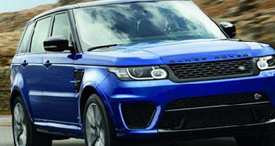 Le Range Rover Sport SVR : de -50 à +50 degrés, il performe aussi bien!