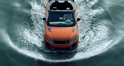 Le Range Rover Evoque Convertible est un cabriolet pour toutes les saisons.