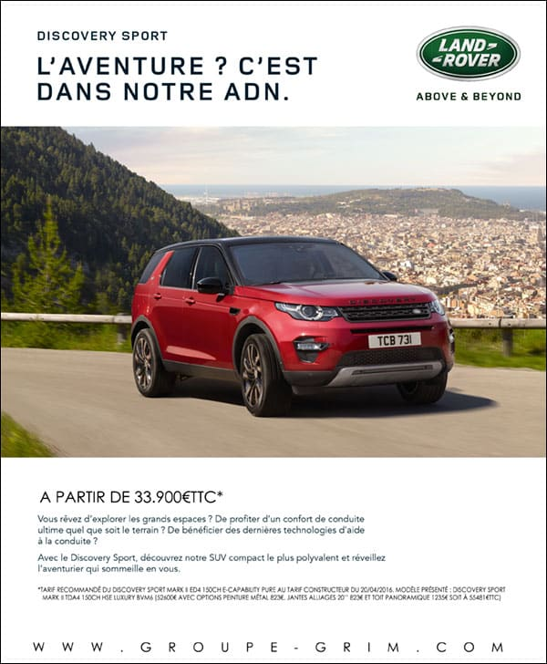 Nouveau Discovery Sport