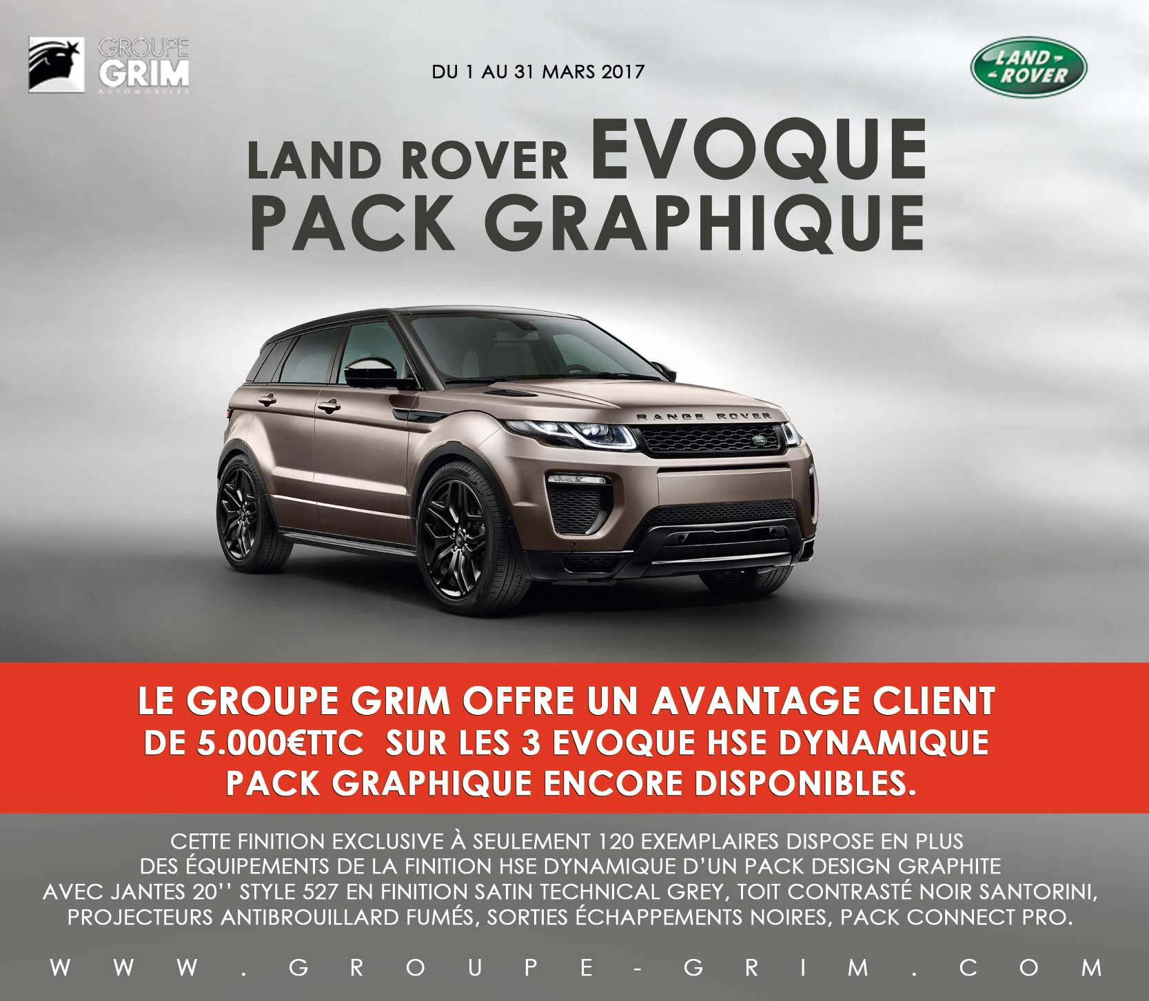 land rover evoque pack graphique jaguar montpellier land rover montpellier. Black Bedroom Furniture Sets. Home Design Ideas
