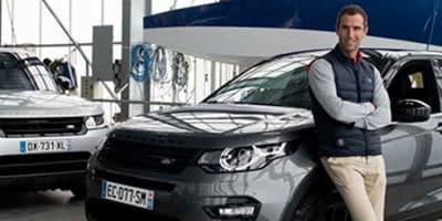 Armel Le Cléac'h, ambassadeur Land Rover