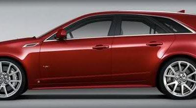 Cadillac CTS-V Sport Wagon: après la berline, le break